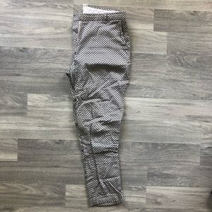 4 for $30 🔑 H&M Black White Bow Geometric Pant 8